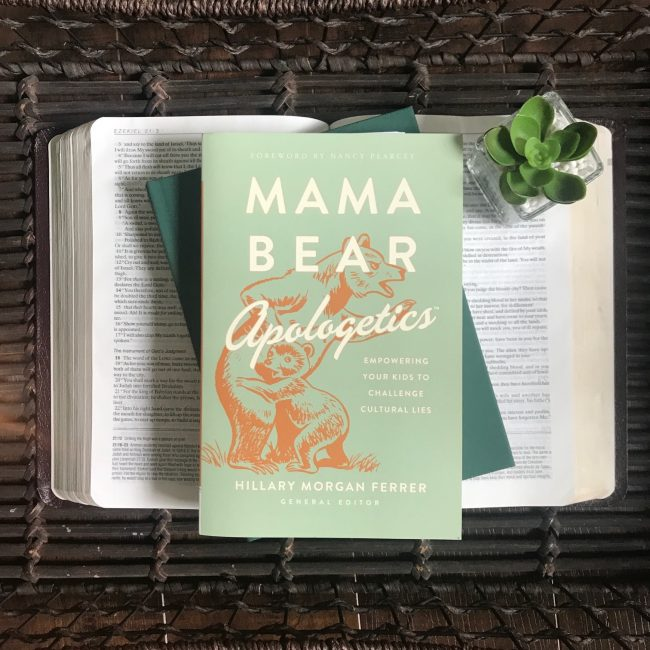 I'm excited to chat with Hillary Morgan Ferrer today on the #WalkItOut Podcast about her new book Mama Bear Apologetics. I loved my conversation and know you will be blessed by it too!