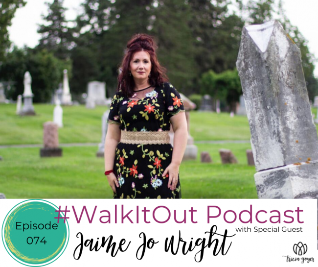 I loved getting to talk to author Jaime Jo Wright on this week's #WalkItOut Podcast! We talk writing, Nancy Drew, books, homeschool, and so much more! Be sure to listen in. You don't want to miss this episode!