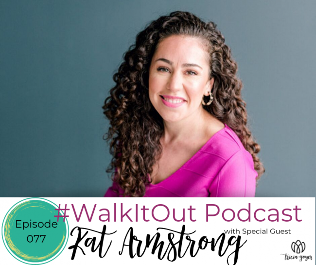 Join us on this week's episode as we chat with Kat Armstrong, co-founder and executive director of Polished Ministries and author of the new book, No Holding Back. This is an episode you don't want to miss!