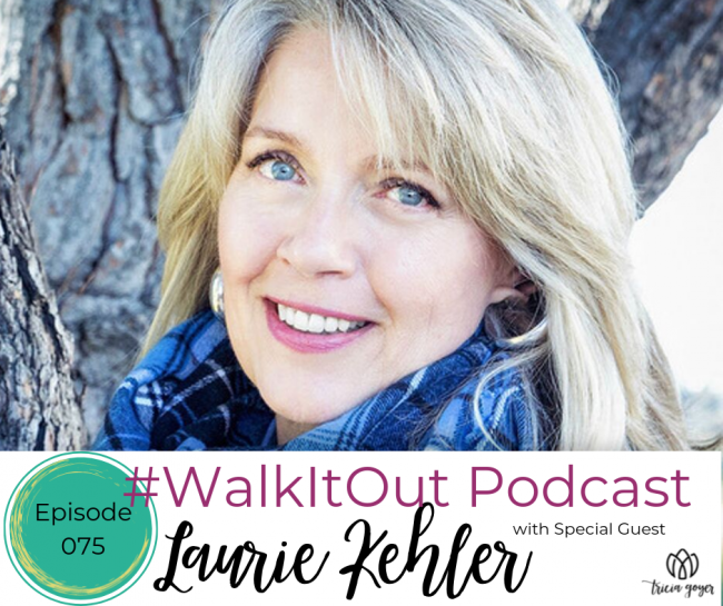 On this week's episode Laurie Kehler and I talk about slowing down and connecting with God through nature. I promise this is not an episode you want to miss!