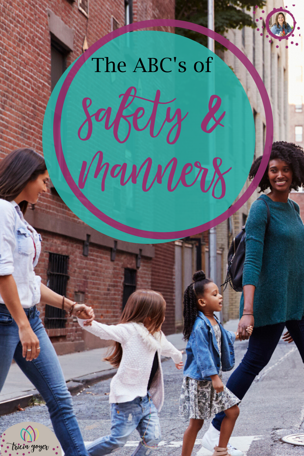 Have you taught you kids the ABCs of safety and manners? One of the biggest mistakes I've made as a mom was to expect what I haven't taught. I'd take my kids out and expect them to know not to ask the lady sitting next to us at the park for part of her lunch. Or expect them to know that they shouldn't run and scream in a store or touch in an art museum. How WOULD my kids know that if I didn't teach them? Teaching and training are part of being a parent.Here are a few tips for teaching your kids.