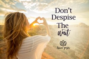 dont despise the wait