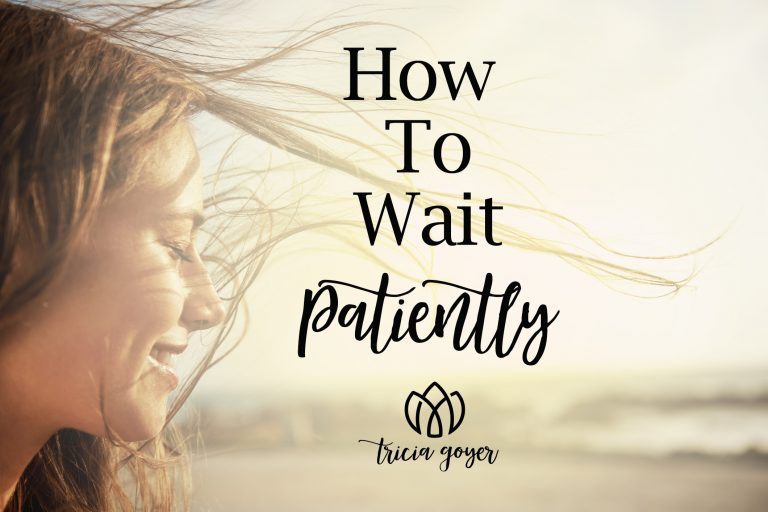 how to wait patiently