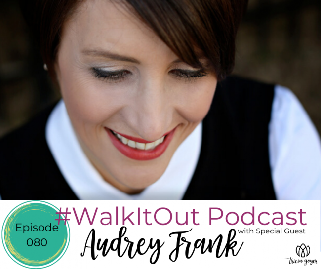 I can't wait for you to listen to my impactful interview with Audrey Frank!
