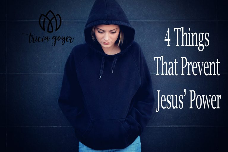 4 Things That Prevent Jesus' Power