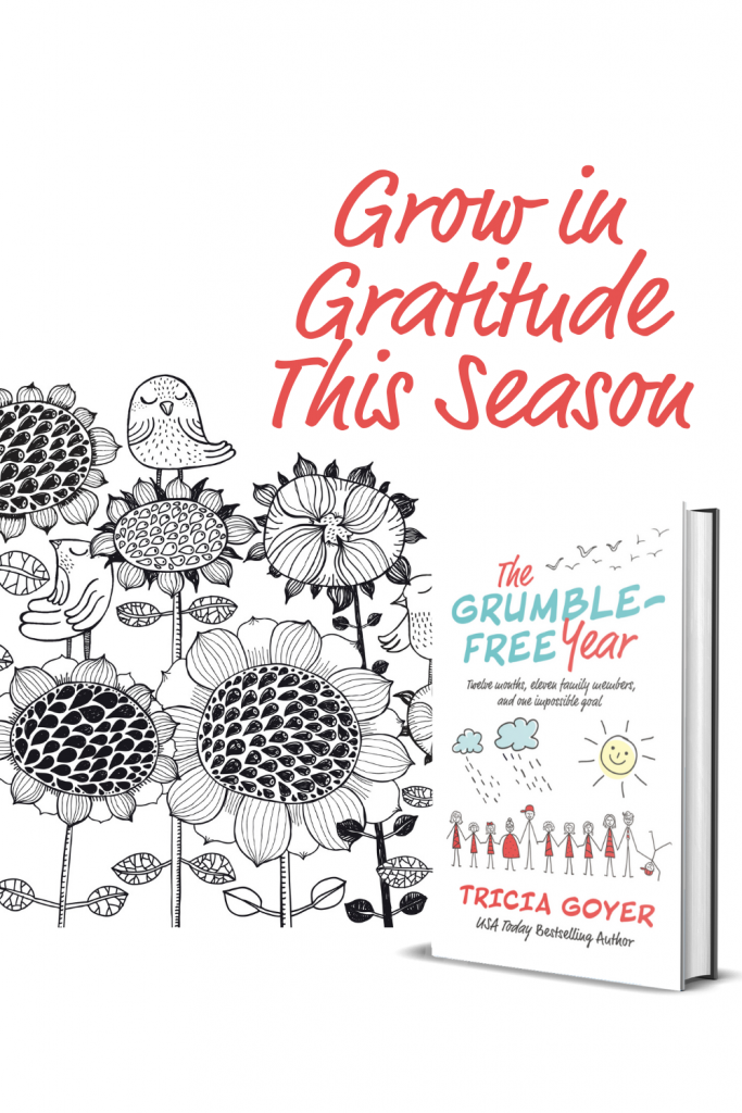 Grow in Gratitude with the Grumble Free Year