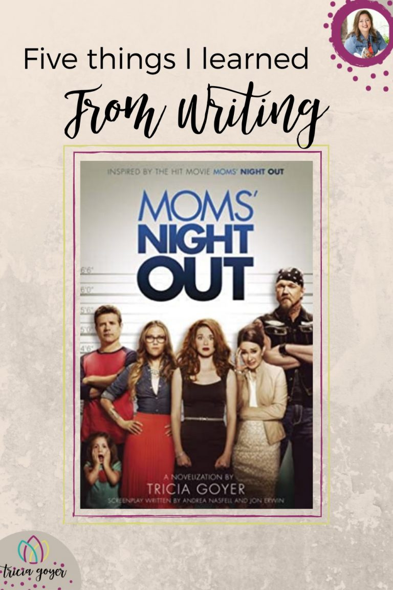 5 things I learned from writing moms night out