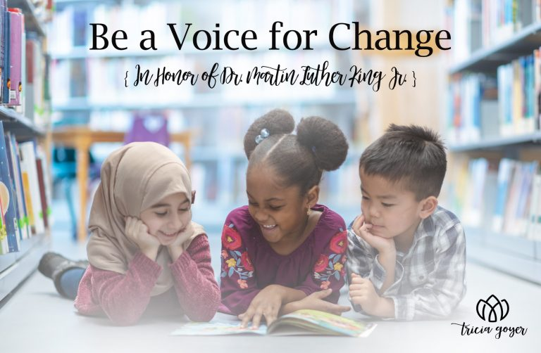 be a voice for change