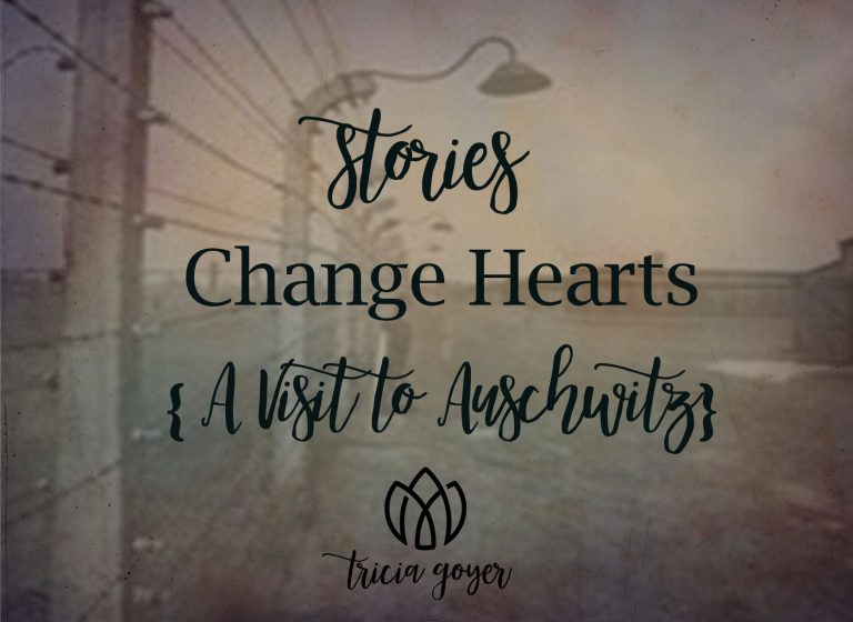 Stories change hearts