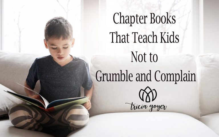 Teach Kids Not to grumble and complain
