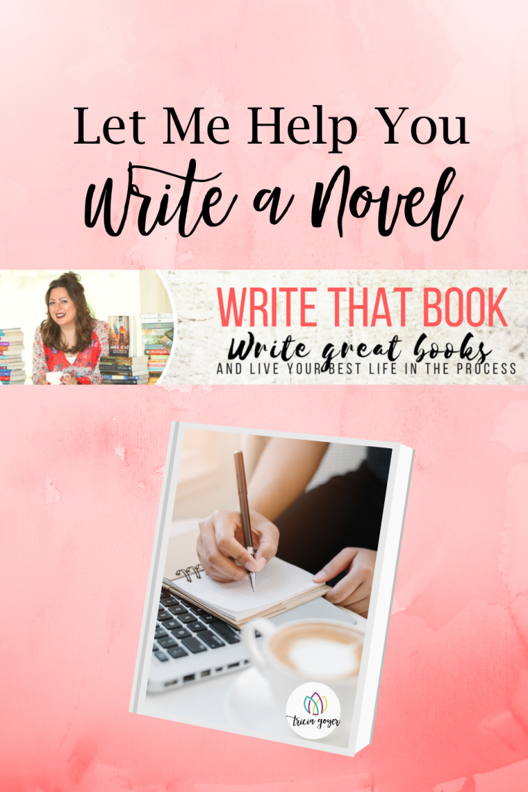 Tricia Goyer shares how she can help you write a novel--for FREE!