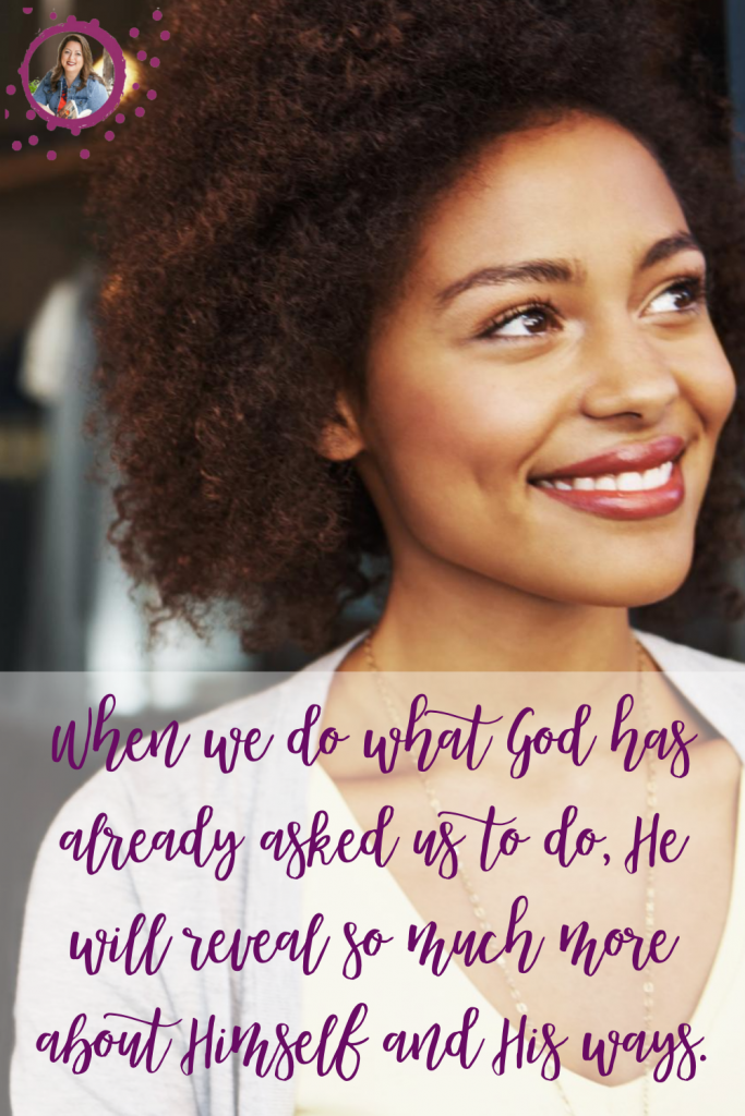Tricia Goyer in her blog post: What does God ask of us?