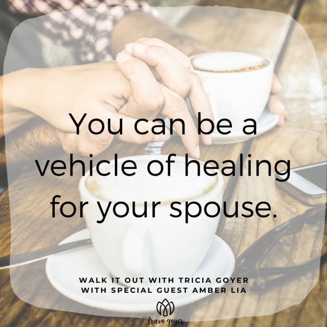 Walk It Out Episode #95 Marriage Triggers with Amber Lia! Such a great episode on the importance of exchanging your triggered responses in marriage with a gentle answer! You don't want to miss it! Enjoy!