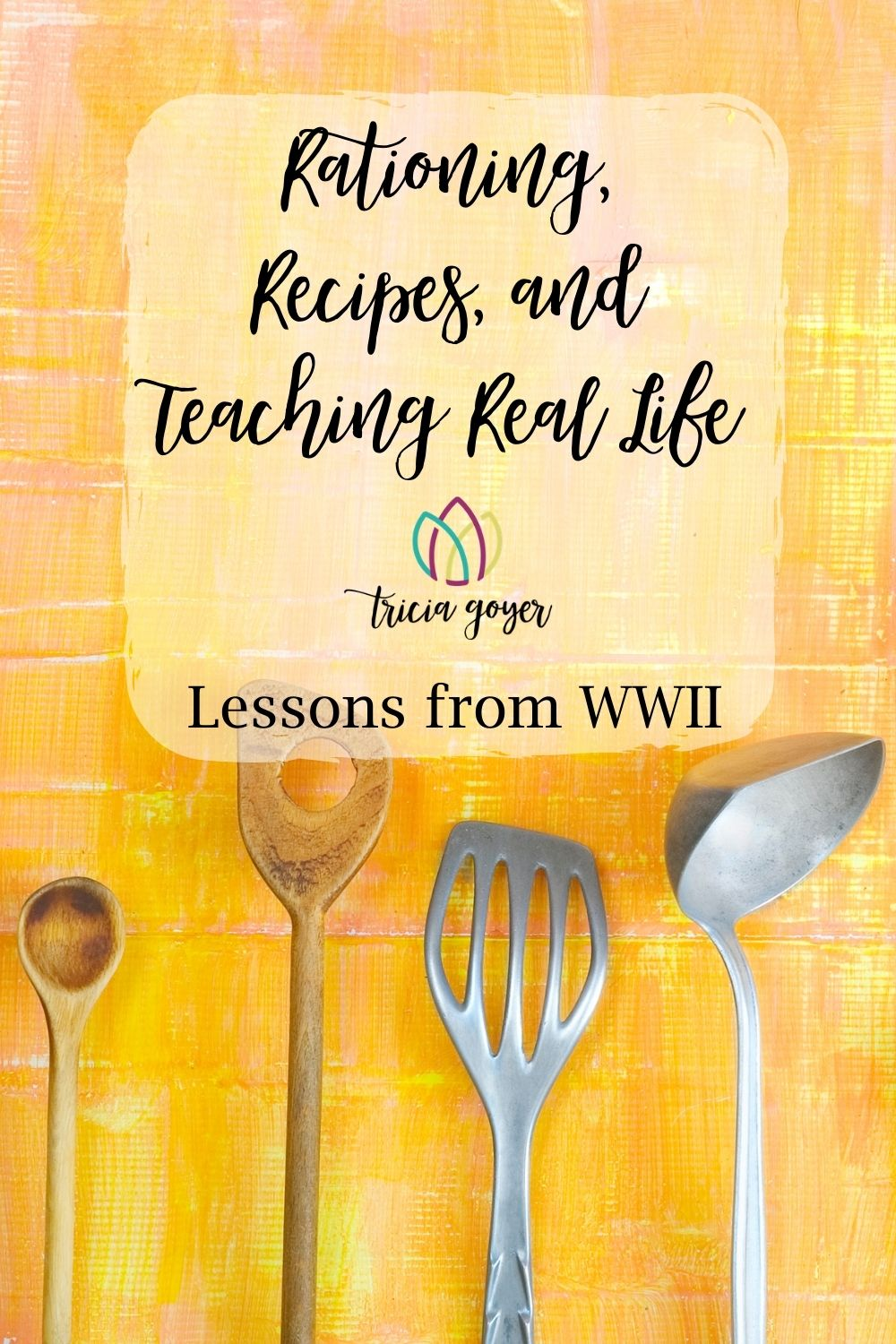 Rationing, Recipes, and Teaching Real Life. There're many ways to teach children. Learning about WWII rationing at the store is just 1 idea. Check out Tricia's blog post for more and FREE RECIPE PRINTABLES and WWII Ration Card.
