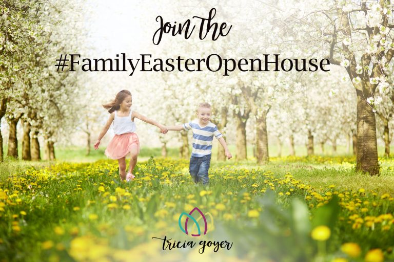 Join the #FamilyEasterOpenHouse