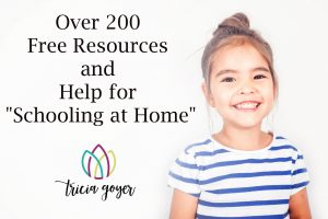 """Over 200 Free Resources and Help for """"Schooling at Home"""""""