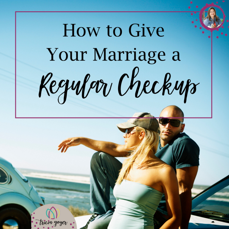 How to give your marriage a regular checkup