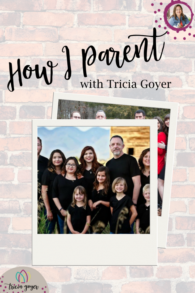 How I parent with Tricia Goyer. Learn the story of their adoption, plus practical tips on how she balances work and being mom to her large family