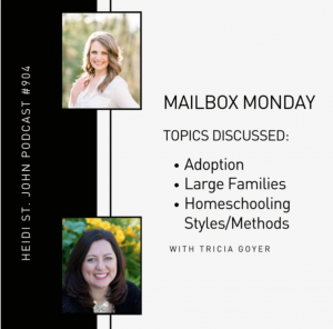 Podcast in the blog post about Tricia's life-impacting testimony