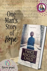It's amazing how One Man's Story of Hope Shares The Gospel. For years Tom had written down the story of his life--my job was to bring it to life...