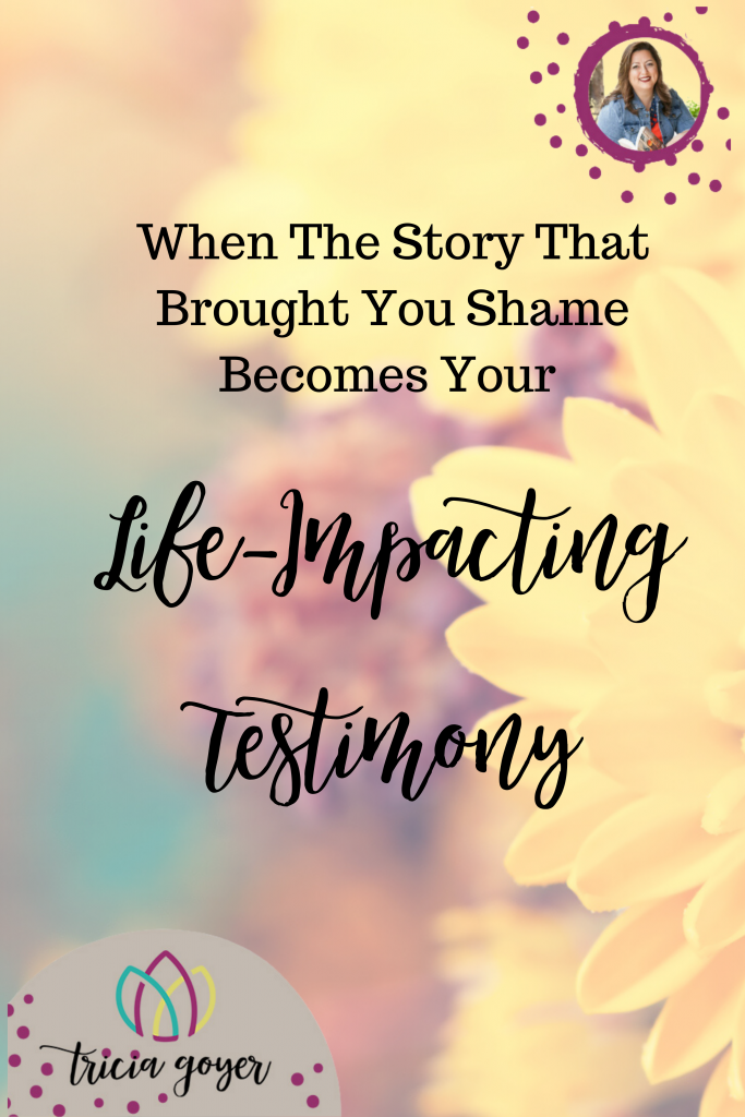 Have you ever wanted to have a life-impacting testimony as a Christian? But maybe you felt that your story was only one full of guilt, shame, and mistakes? Today I want to tell you about how my story, which brought me great shame, actually became my life-impacting testimony.