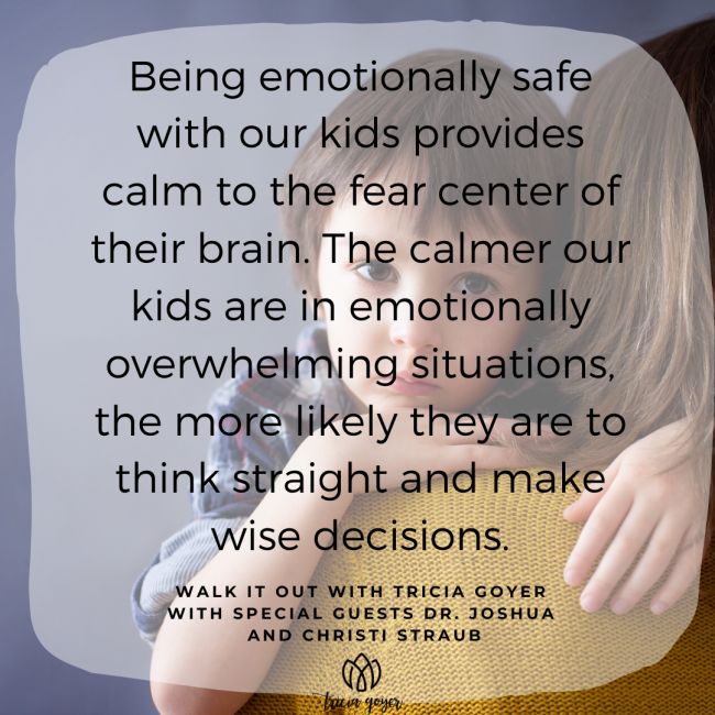 Walk It Out Episode #99 What Am I Feeling with Dr. Joshua and Christi Straub Today on the podcast we're talking all about feelings. Especially your kids' feelings You won't want to miss this episode!