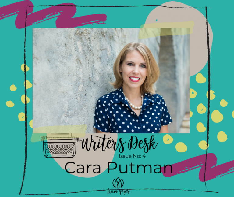Writer's Desk: Cara Putman. Cara shares her 3 tips for launching your writing career while you're still working your day job! Enjoy!