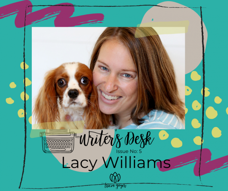 Writer's Desk: Lacy Williams. Lacy shares her 3 tips for making the romance sizzle in your novel! Enjoy!