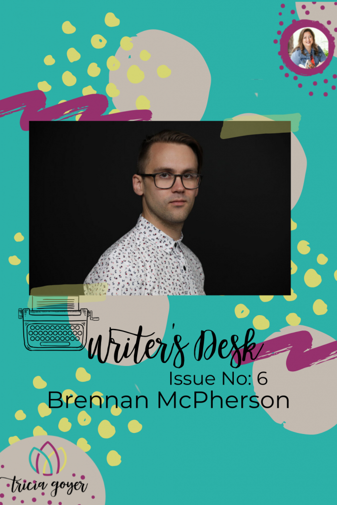 Writer's Desk: Brennan McPherson. Brenna shares his top 3 tips for making Biblical fiction come alive! Enjoy!