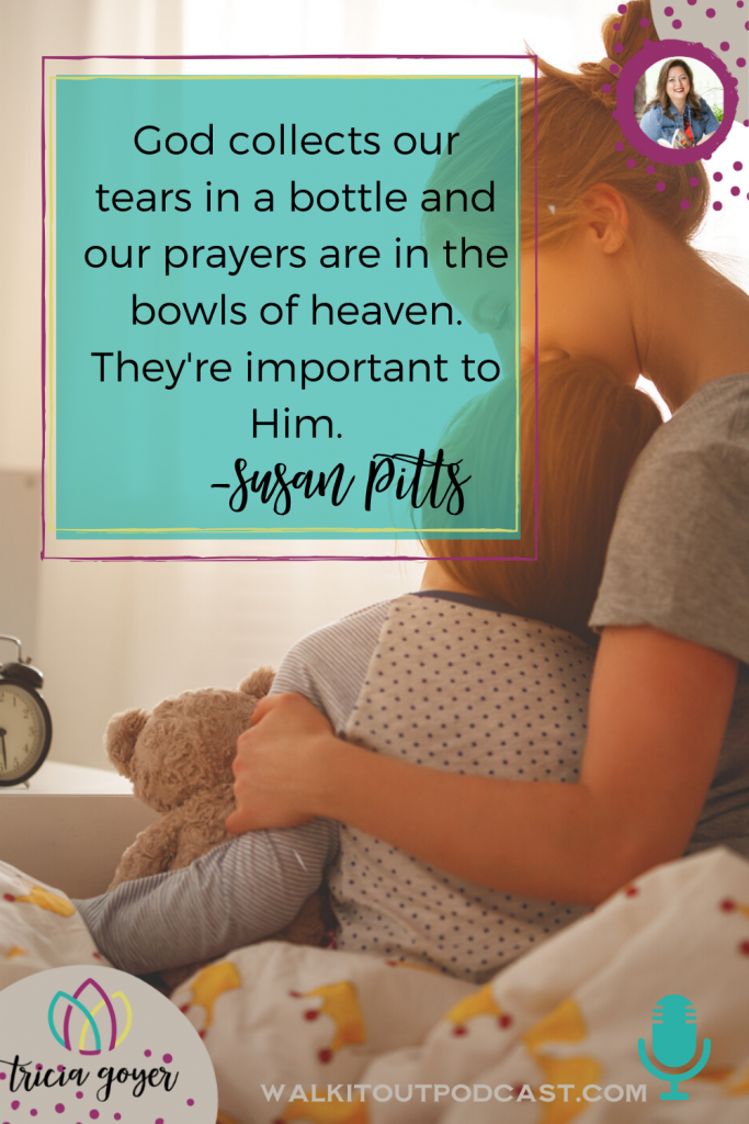This week on Walk It Out we're chatting about moms in the trenches with Becky Thomas and Susan Pitts authors of Midnight Mom Devotional! It's such a great episode you don't want to miss!