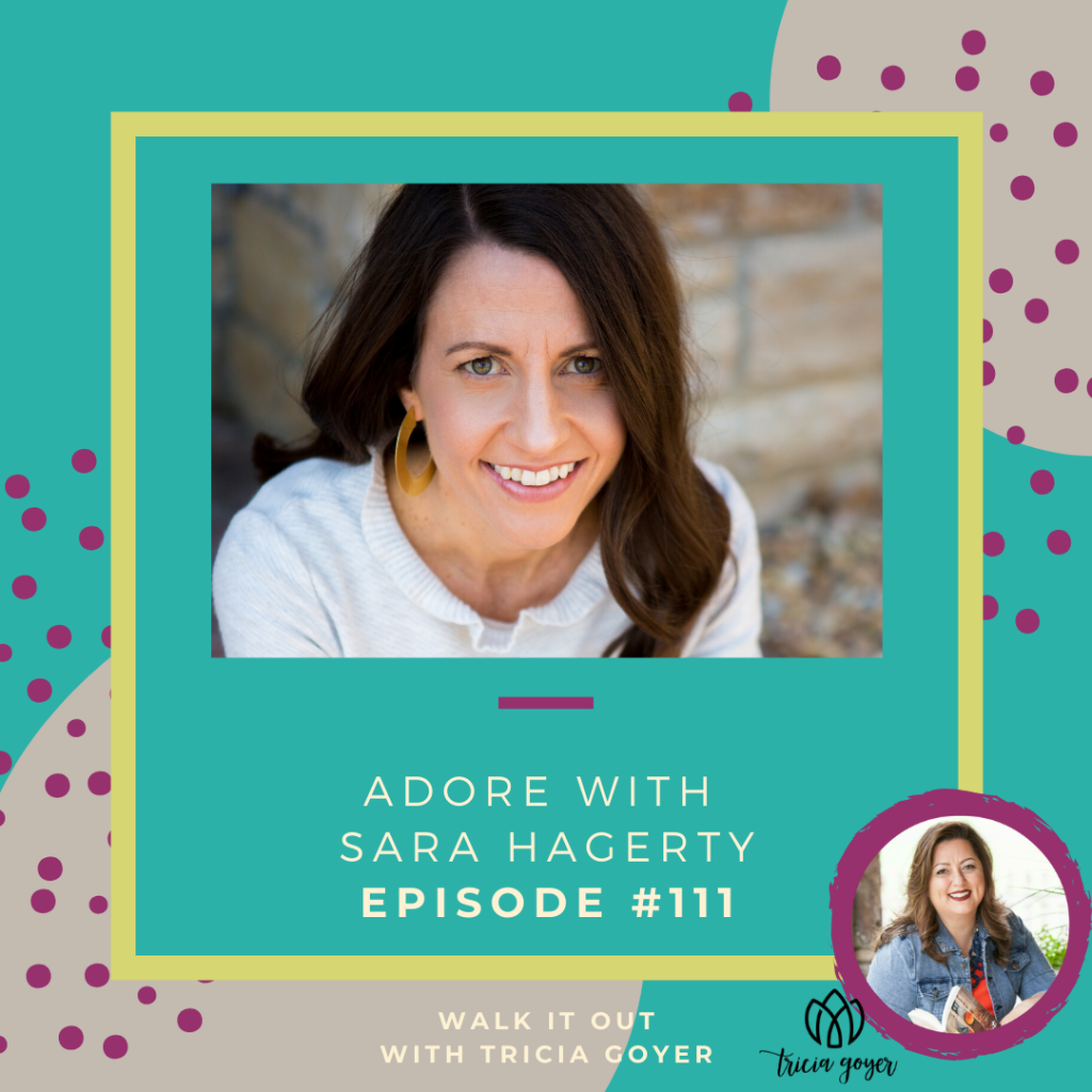 This week on Walk it Out I'm chatting with Sara Hagerty about her new book Adore. Such an amazing episode, and one you don't want to miss!