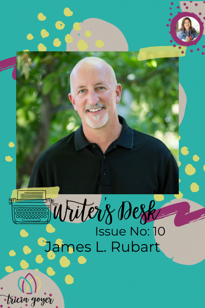 Writer's Desk: James L. Rubart. James shares three tips for how writers can bring their readers' life through the novels they write. Enjoy!