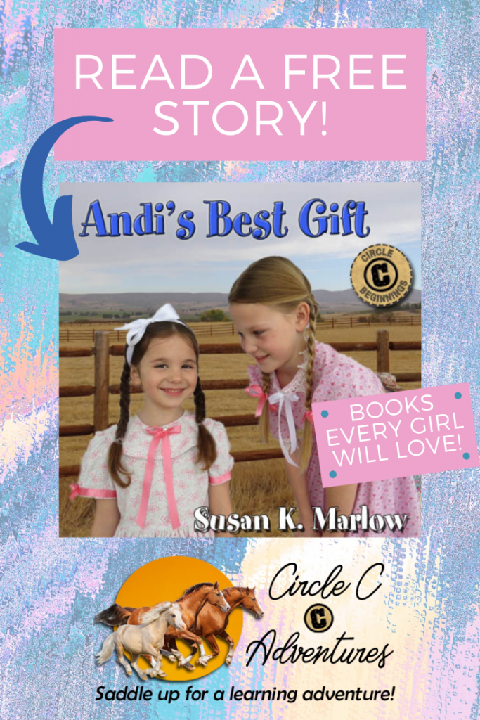 Go on a learning adventure with Circle C. Your horse-loving girl will LOVE these FREE stories! Download these free PDF Short Stories and enjoy! Great for Homeschooling and Coops. Encourage Reading and Love for books!