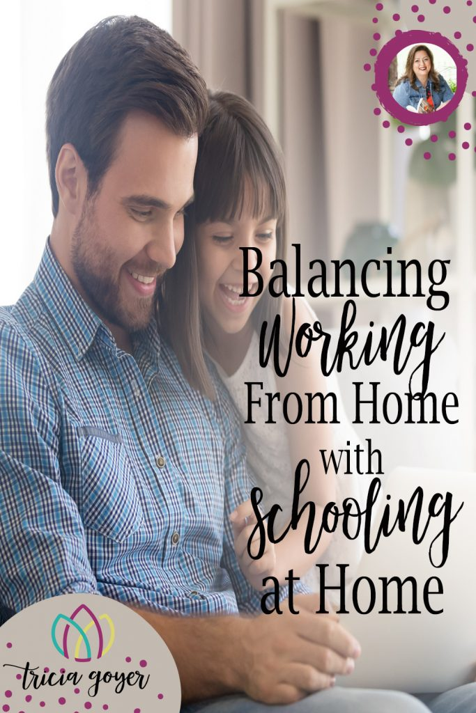 Balancing Work From Home with Schooling from Home