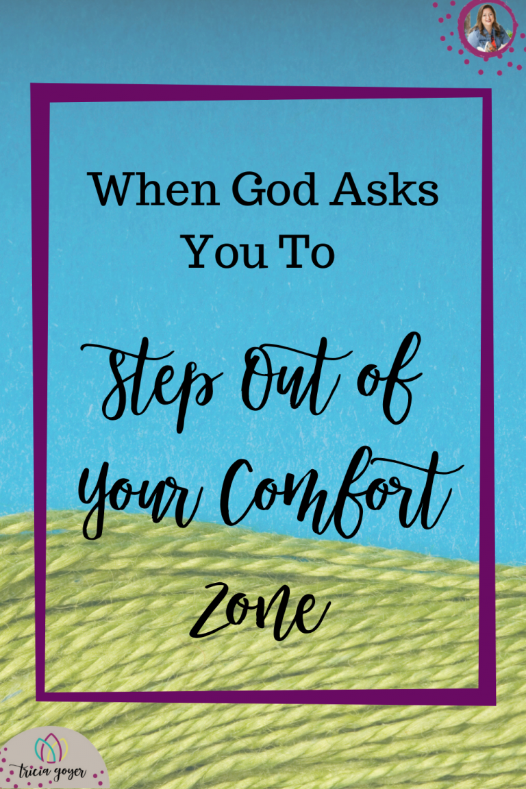 "I have no doubt that everything changed one quiet, early morning in 1999—the morning I knew God was saying ""Step out of your comfort zone."""