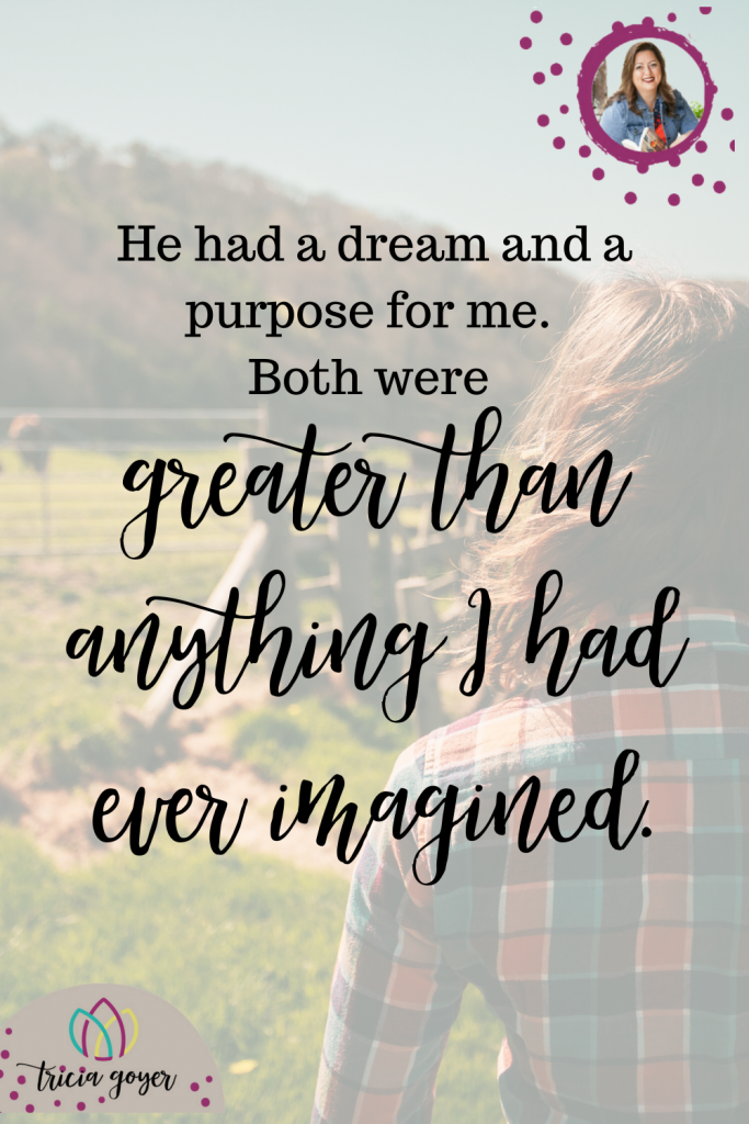 From Tricia Goyer's Blog Post When God Asks You To Step Out of Your Comfort Zone