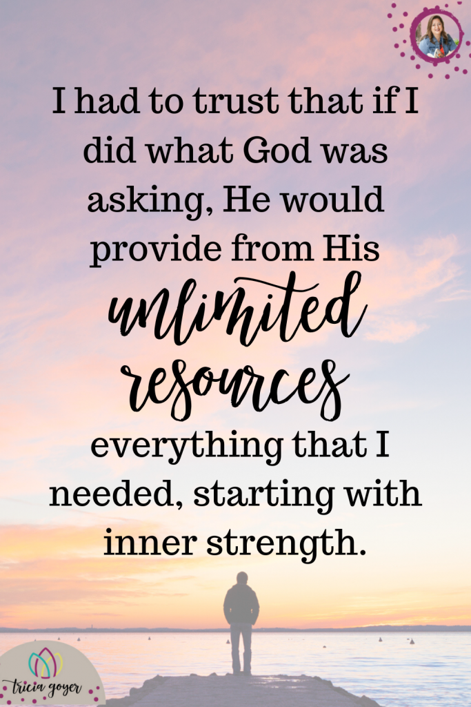From Tricia Goyer's Blog- When God Asks You To Step Out of Your Comfort Zone