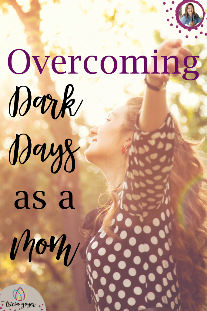 Depression is not something that people like to talk about.  Especially as a mom, there is a stigma attached to these things.  Today I want to share my story about Overcoming Dark Days as a Mom.