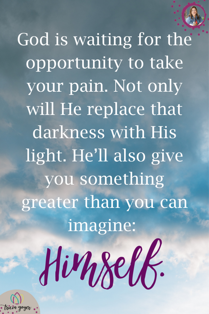 Tricia Goyer shares in her post: Overcoming Dark Days as a Mom