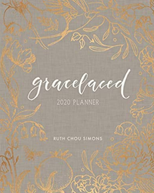 Gracelaced is the planner that Tricia Goyer uses