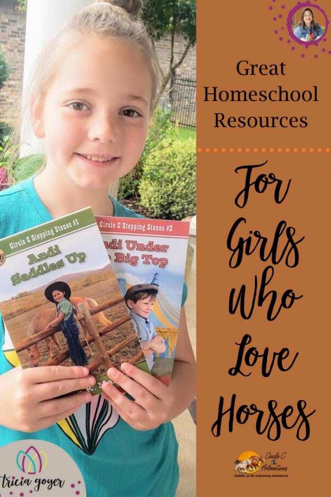 Great Homeschool Resources for Girls Who Love Horses- By Tricia Goyer