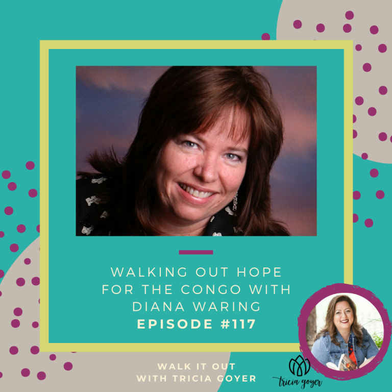 On this week's episode of Walk it Out I'm chatting with Diana Waring about the very real issue of a people group in the Congo who is facing genocide. How God used my story to impact Diana's is amazing. This episode is going to blow you away!
