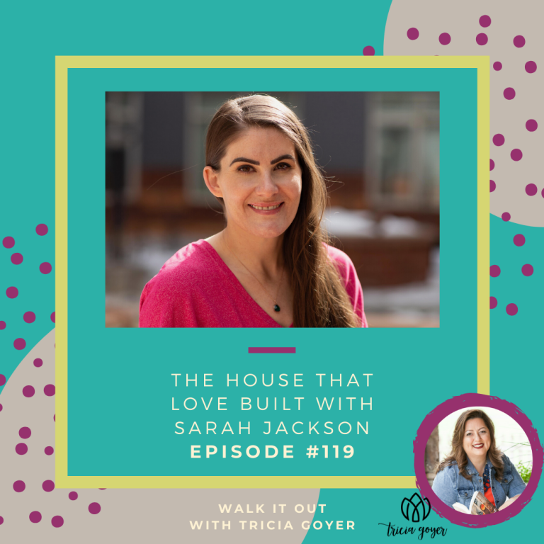 I'm so excited to chat with author Sarah Jackson this week about her new book The House that Loved Built and her ministry, Casa de Paz. Enjoy!