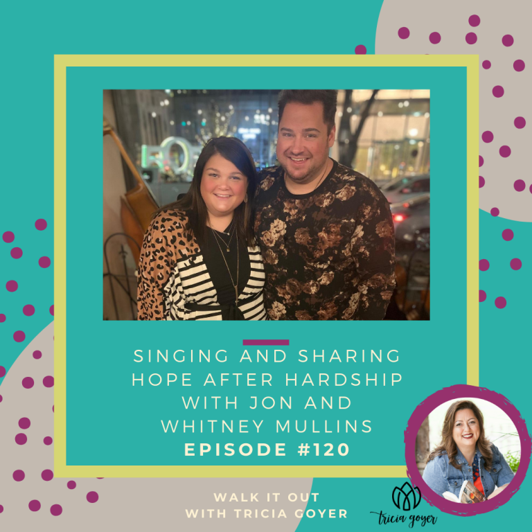 On today's episode I'm chatting with my other favorite Voice contestant, Jon Mullins and his wife Whitney! I love their story of overcoming. Bonus, Jon sings at the end of the episode!