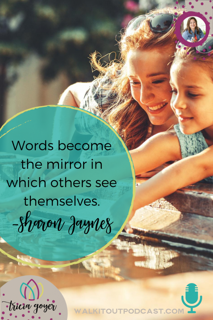 On today's episode of Walk it Out I'm talking about the power of a woman's words with guest Sharon Jaynes. Such a powerful episode. Enjoy!