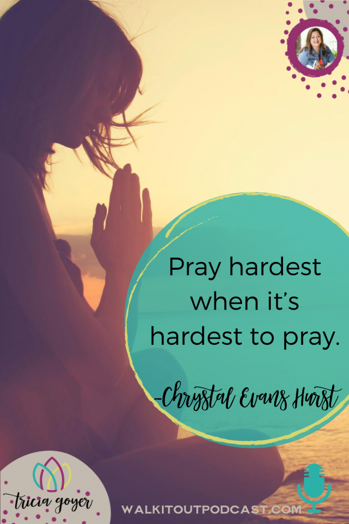 This week on Walk it Out I'm chatting with Chrystal Evans Hurst about her new book 28 Days of Prayer. Such an encouraging episode! Enjoy!