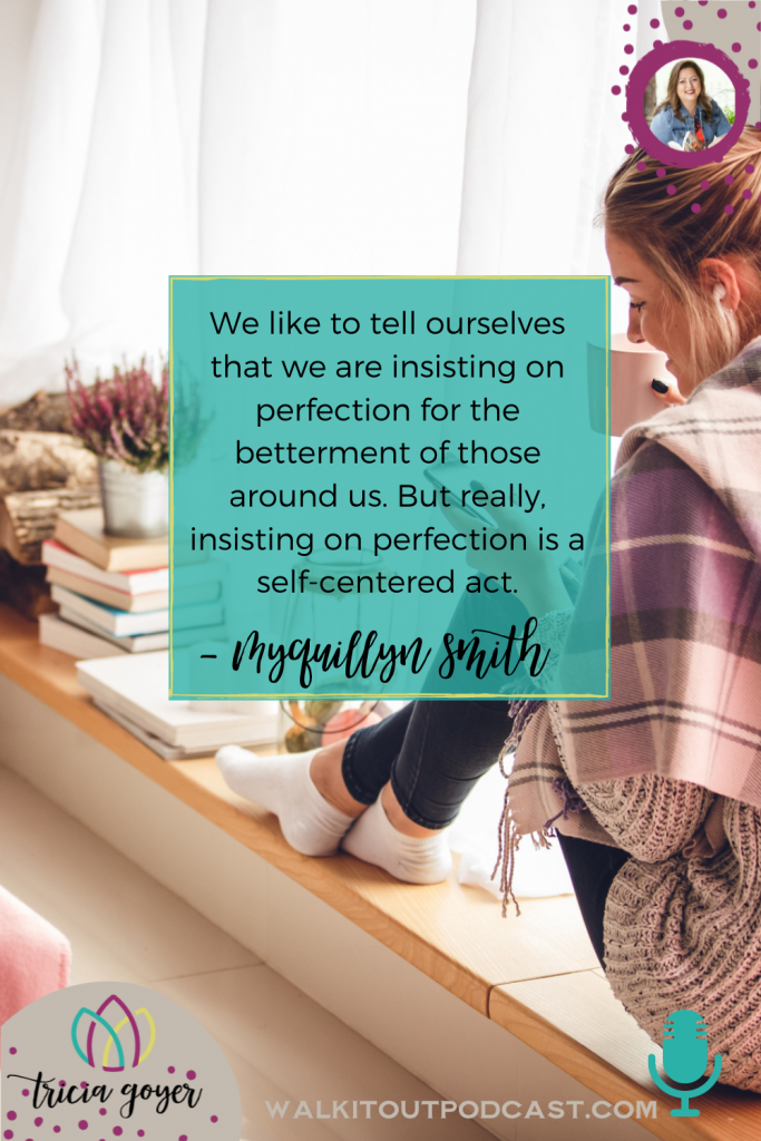 WIO #129 Welcome Home with Myquillyn Smith — this week we're chatting all about having a beautiful home ... it might not be what you think! I know you'll enjoy this interview!