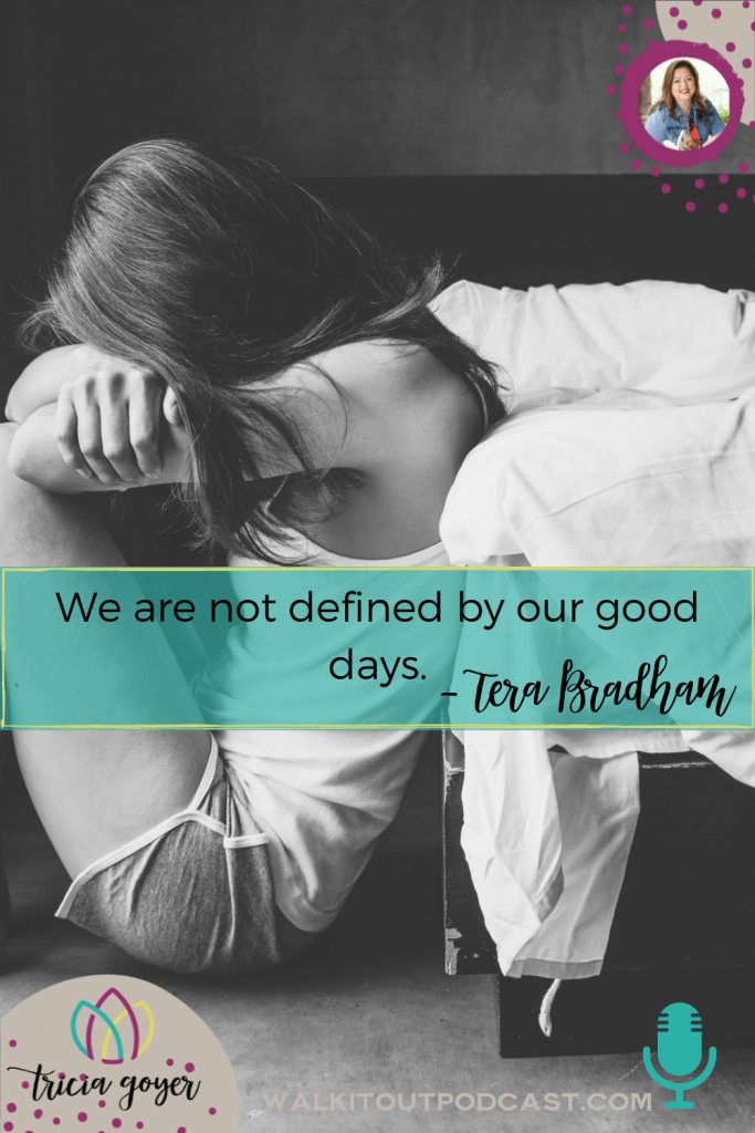 WIO #128 Swimming for Freedom with Tera Bradham - Tera and I are chatting all about the hard times and how God gets us through. Enjoy!