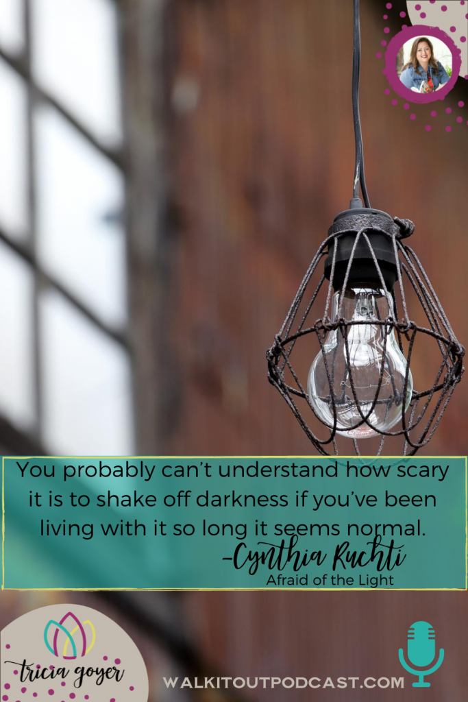 On this week's episode, I'm chatting with Cynthia Ruchti about how fiction is entertaining and inspiring and so revealing! I know you'll enjoy!