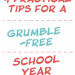 As a homeschooling mom of ten, there is always a lot going on in our home, and it's hard to makeeveryonehappyall of the time. This has led to a lot of grumbling in the past. But a few years ago our family decided to do something different and replace out grumbling with gratitude. I chronicle our journey inThe Grumble Free Year, and these are four practical things I learned that can also help your family to have a grumble-free school year!